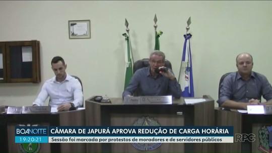 Câmara de Japurá aprova redução de jornada para funcionários públicos da saúde