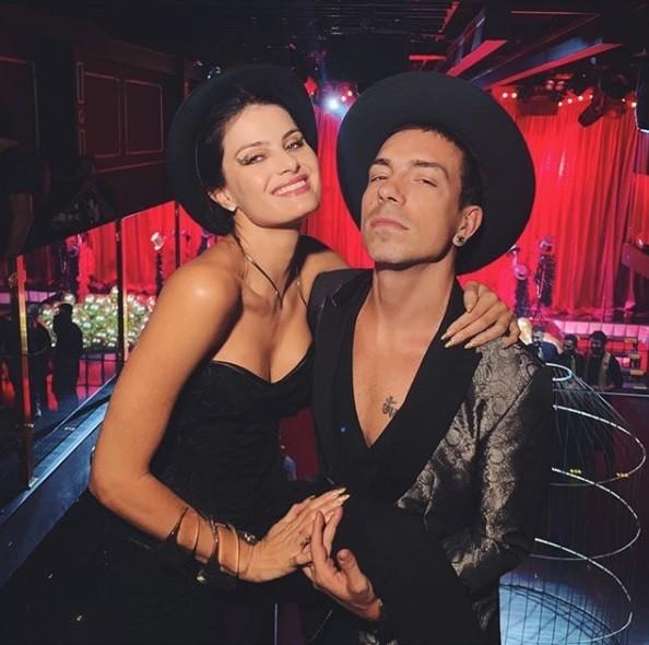 Di Ferrero e Isabeli Fontana  (Foto: Reprodução / Instagram)