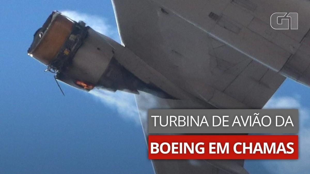 Boeing recomenda suspender uso do modelo 777 após incidente em Denver