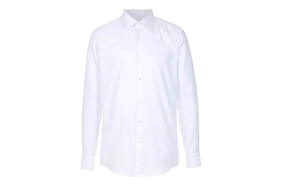 Camisa slim fit mangas longas (Foto: Reprodução)