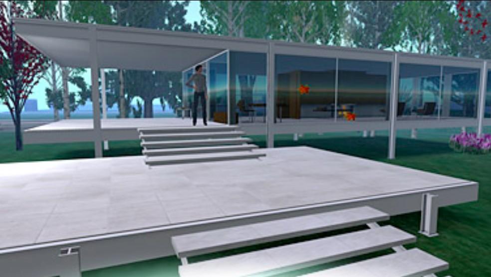 Second Life tem mercado imobiliário complexo — Foto: Reprodução/Felipe Vinha