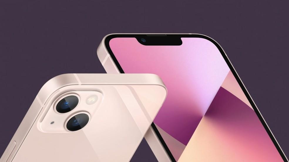 iPhone 13 vem com suporte para dual eSIM — Foto: Reprodução/ Apple