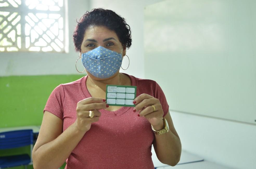 Campina Grande inicia vacinação de trabalhadores do ensino médio, profissionalizante e superior — Foto: Divulgação/SMS