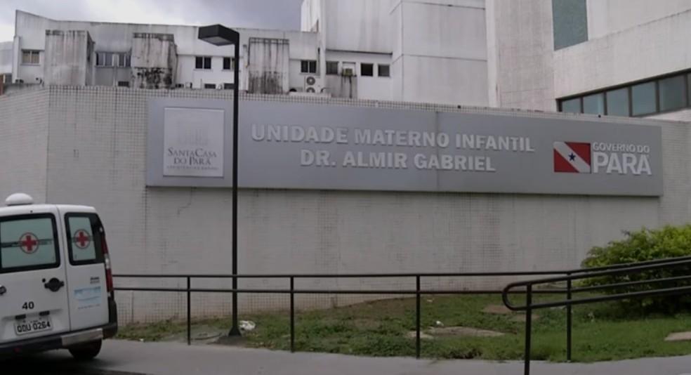 -  Crianças seguem internadas em estado grave na Santa Casa de Misericórdia do Pará.  Foto: Reprodução/ TV Liberal