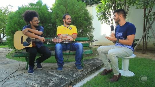 """Dupla """"Lucas Cantam"""" homenageiam o trio de irmãos compositores piauienses"""