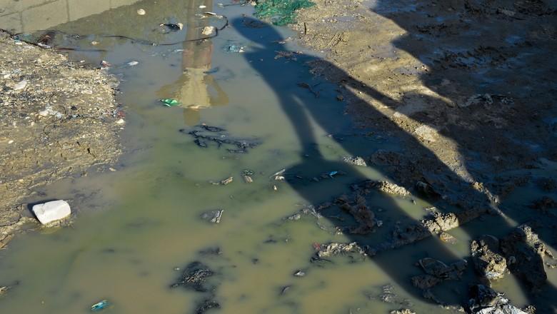 água, haiti, escassez, poluição, saneamento básico (Foto: Marcello Casal Jr./Agência Brasil)