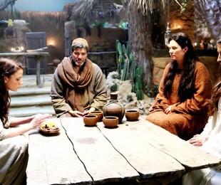 Cena de 'Jesus' |  Munir Chatack / Record TV