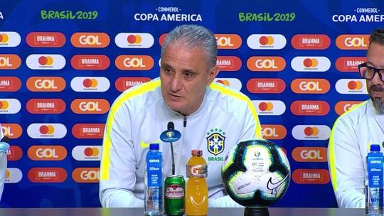 Sem mistério: Tite confirma Brasil com Allan na vaga de Casemiro e trio Everton, Jesus e Firmino