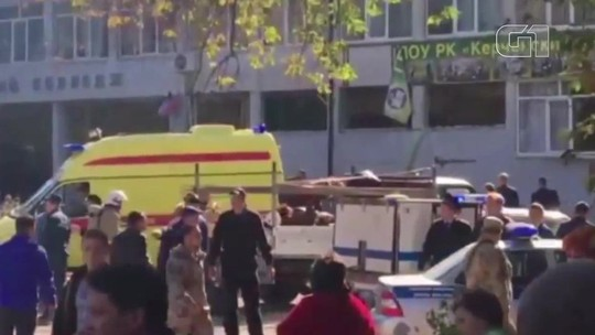 Explosão em faculdade mata 18 e deixa 50 feridos na Crimeia