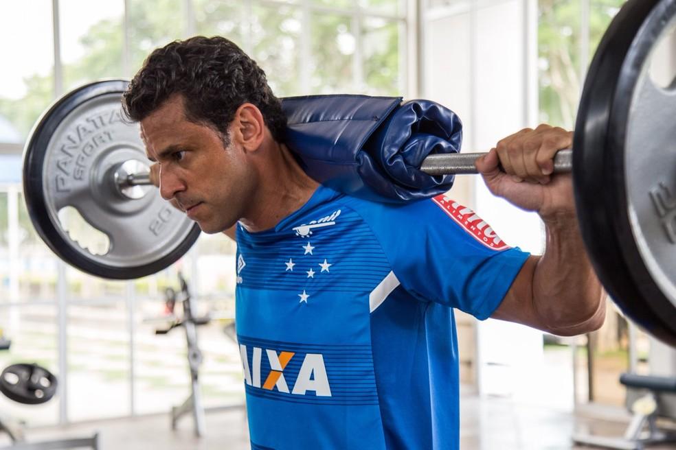 Fred disse que já estava de malas prontas para ir para o Catar (Foto: Divulgação/ Cruzeiro)