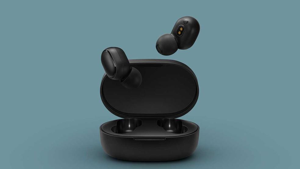 Redmi AirDots poderão ser encontrados em preto ou branco com preço competitivo — Foto: Divulgação/Redmi