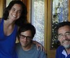 Alice Braga, Gael García Bernal e Chico Diaz   Arquivo pessoal