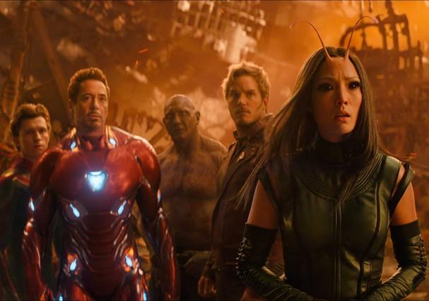 Cena do filme Vingadores: Guerra infinita (Foto: Reprodução/Youtube)