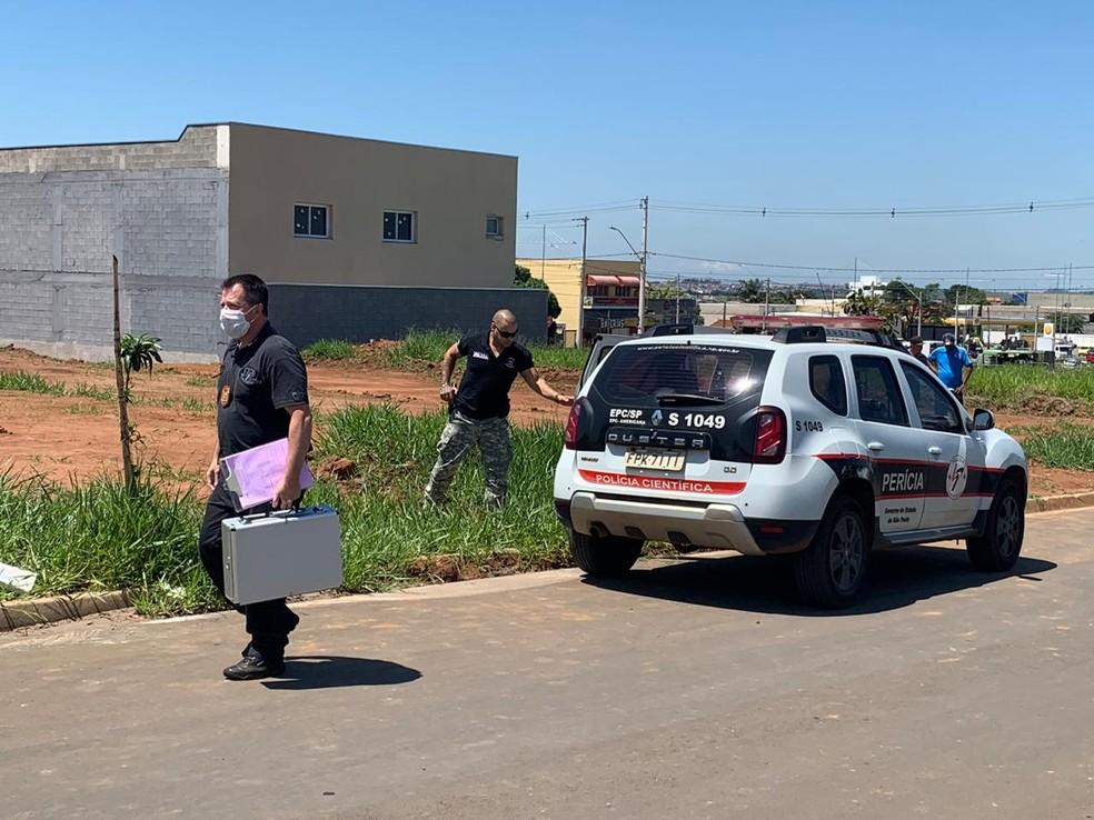 Menina foi encontrada morta nesta sexta em Hortolândia — Foto: Giuliano Tamura/EPTV
