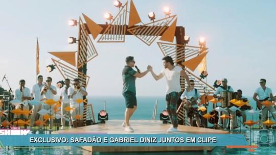 Gabriel Diniz lança novo clipe com Wesley Safadão no 'Vídeo Show'