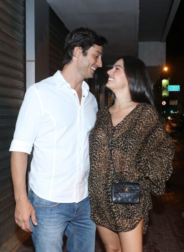 André Resende e Isis Valverde (Foto: Thyago Andrade/BrazilNews)