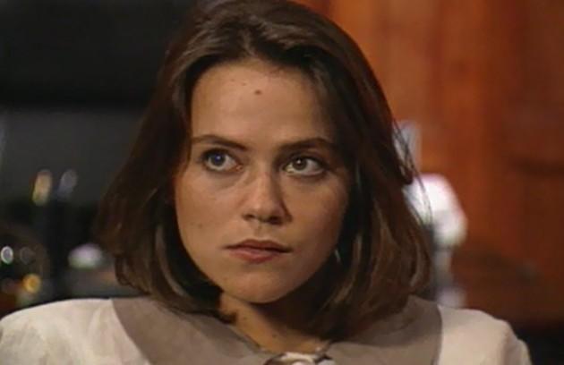 Vivianne Pasmanter, que estreava na televisão, fez sucesso como a vilã Debora  (Foto: TV Globo)