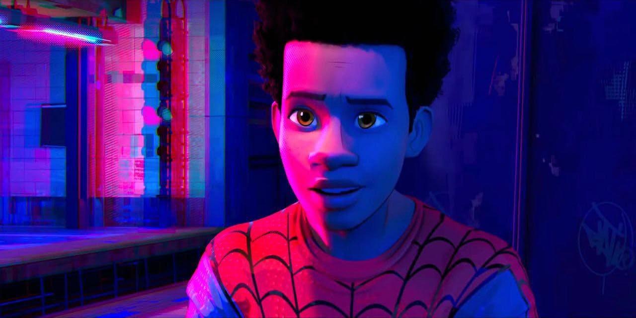 Miles Morales na animação Homem-Aranha no Aranhaverso (Foto: Reprodução/YouTube)