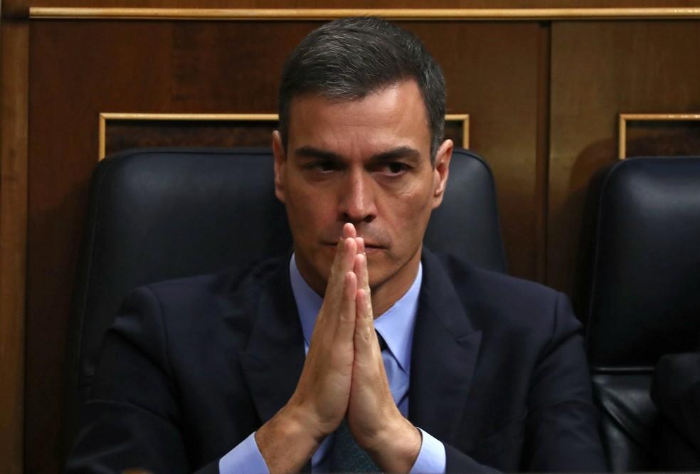O presidente da Espanha, Pedro Sánchez  — Foto: Sergio Perez / Reuters