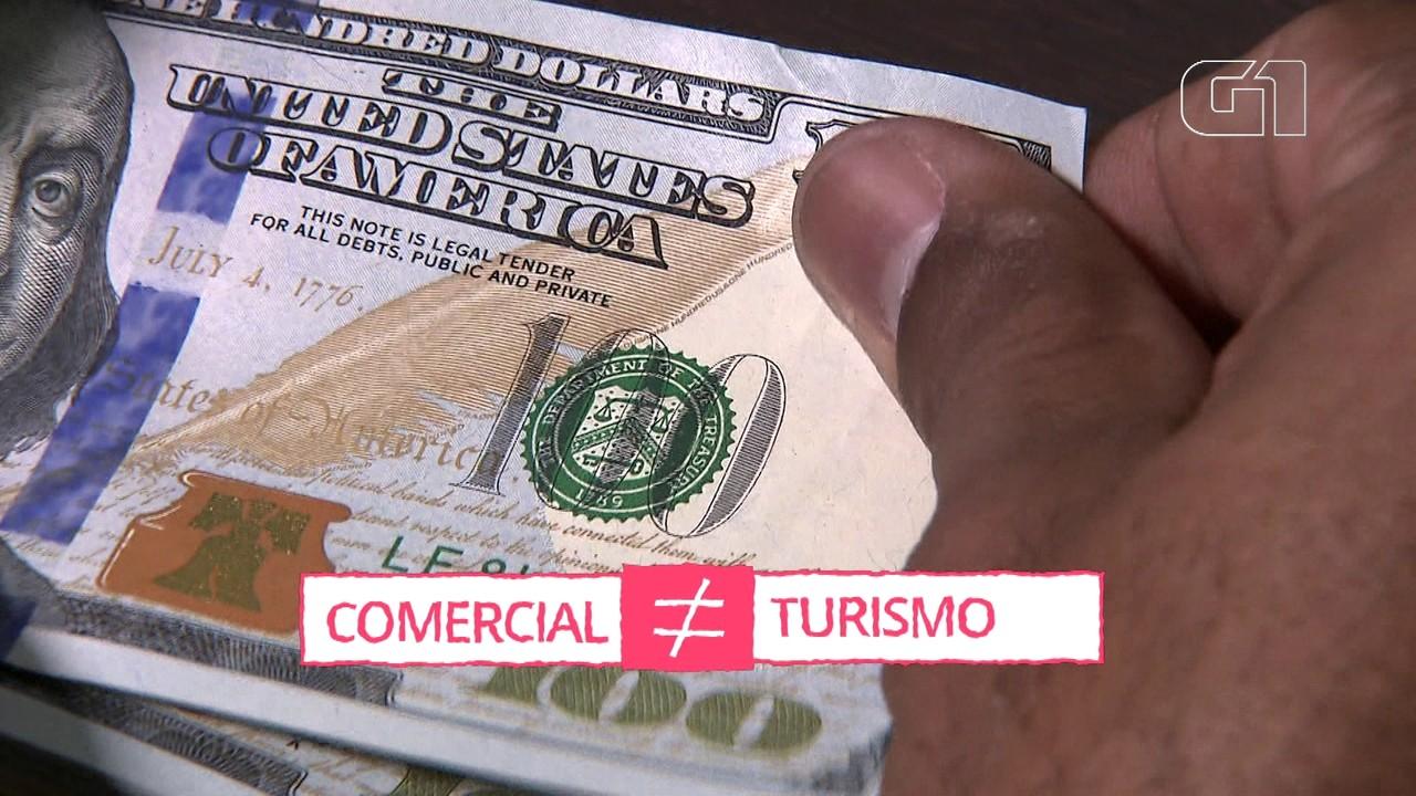 Por que o dólar turismo é mais caro que o comercial?