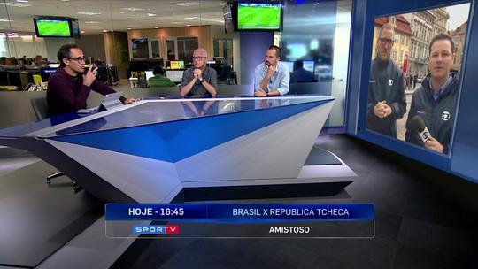 """Redação SporTV discute momento da Seleção, e jornalista diz: """"Acho que Tite foi pouco questionado"""""""