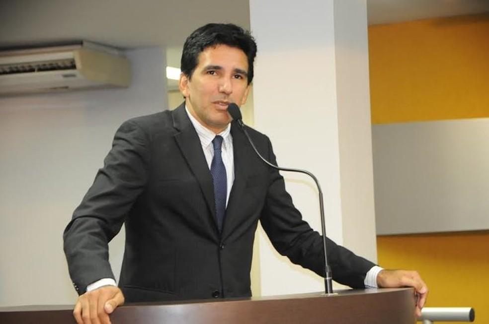 Professor Júnior Geo foi eleito para o primeiro mandato de deputado — Foto: Divulgação/Câmara de Vereadores de Palmas