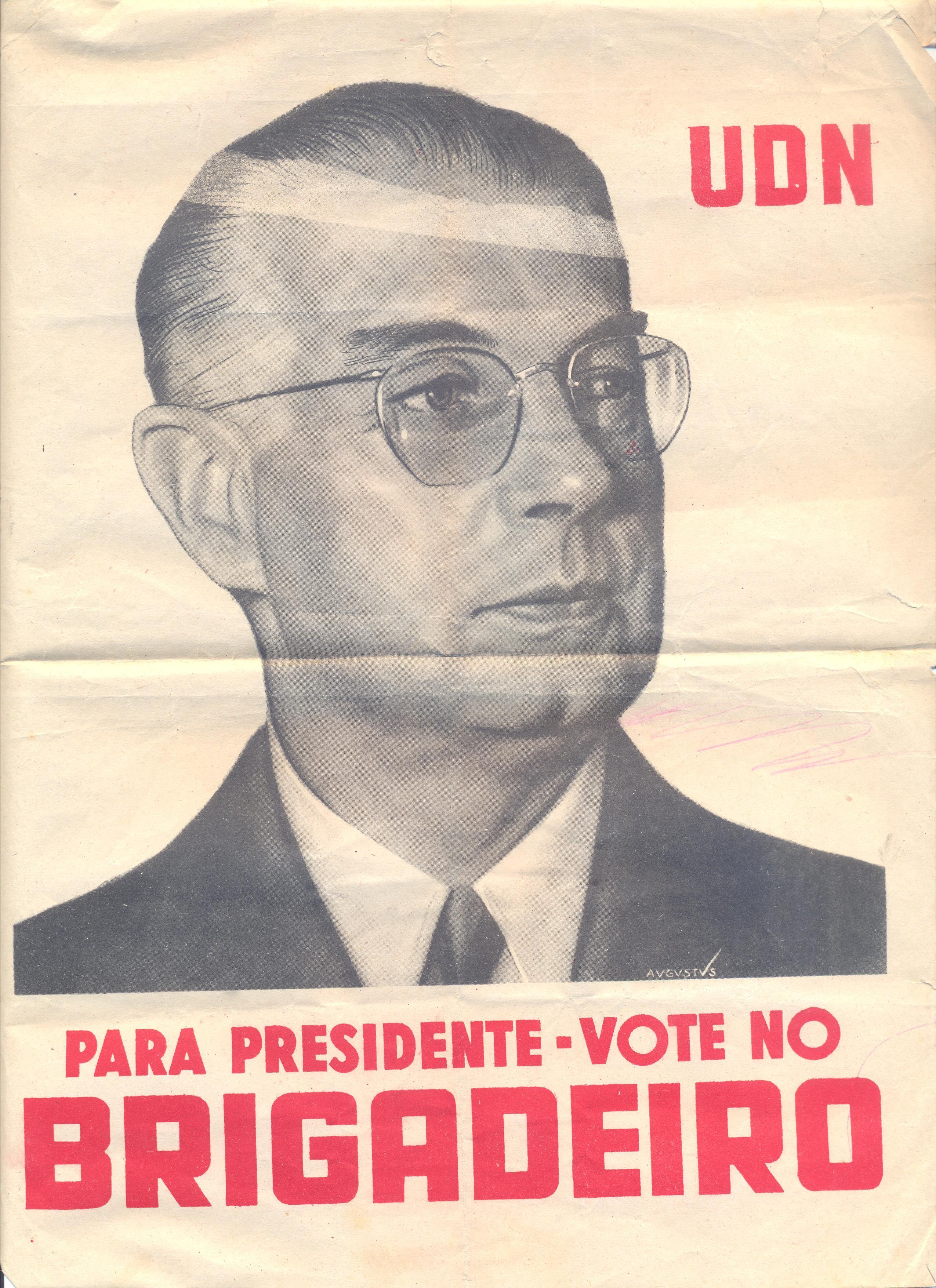 O brigadeiro da Força Aérea, Eduardo Gomes (1896 - 1981) (Foto: Reprodução)