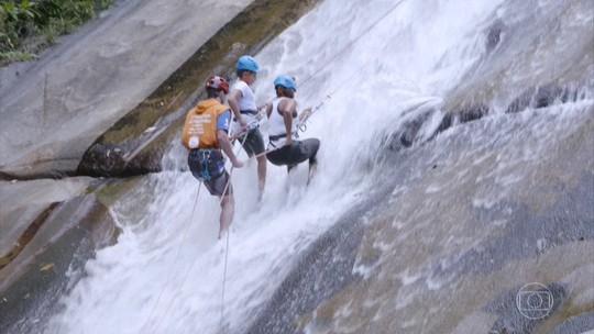 Hoje é dia de cachoeira: mãe e filha vivem aventura no Parque Nacional de Itatiaia