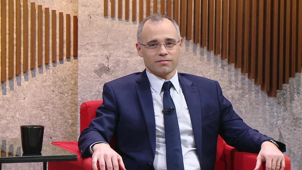 Ministro André Mendonça — Foto: Reprodução / GloboNews