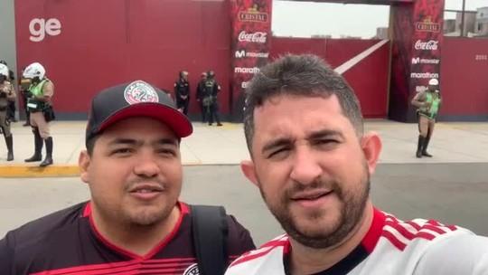 Sem dormir e 28h de viagem até Lima: torcedores do Flamengo vivem odisseia para assistir à final