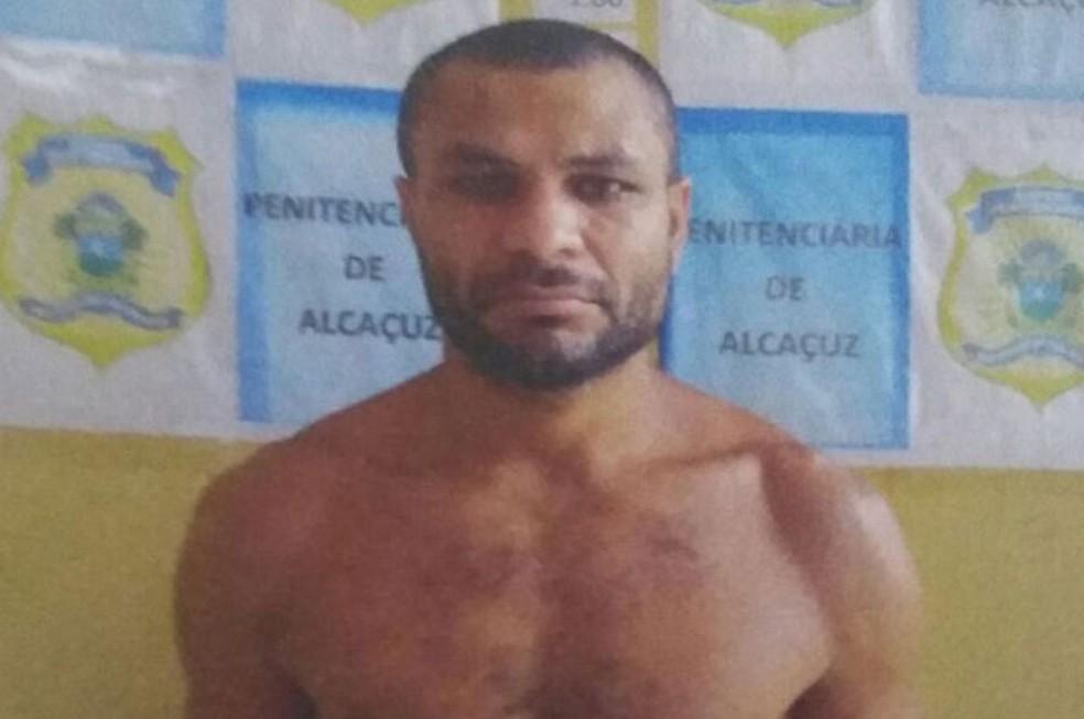 Asclepíades Santos de Souza foi preso na BR-101 em São José de Mipibu (Foto: Divulgação/ Sejuc)