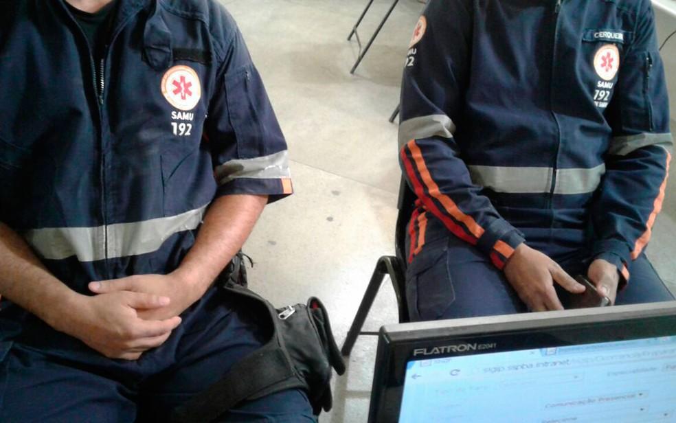 Além dos funcionários do Samu, familiares do paciente também foram assaltados (Foto: Aldo Matos/Site Acorda Cidade)