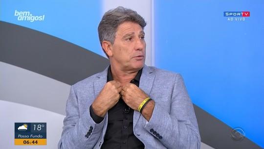 """Inspirado no Barcelona, Grêmio """"cansa"""" adversários e empilha gols no segundo tempo"""