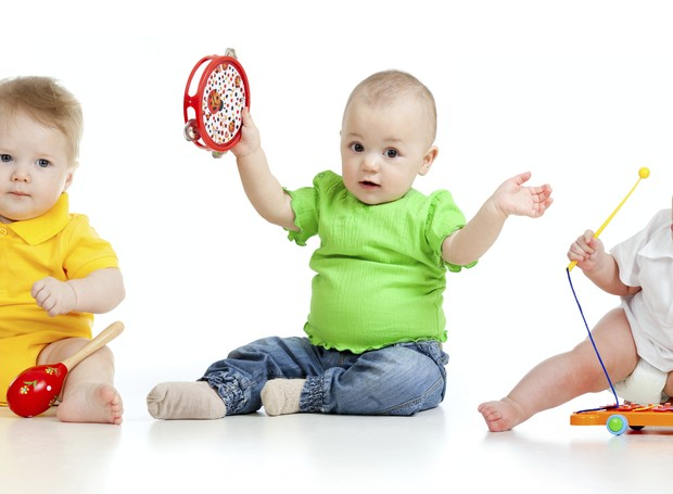 bebês; banda; música (Foto: Thinkstock)