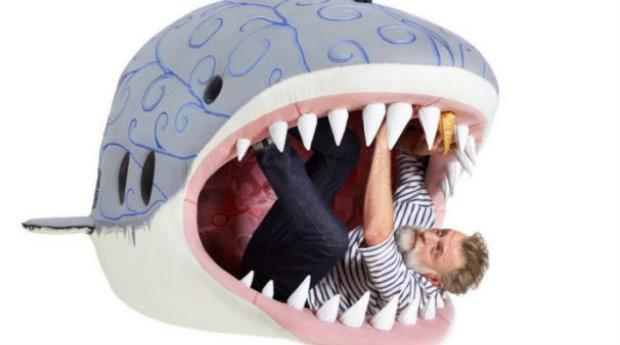 Tubarão branco também está na lista de animais homenageados pelo designer (Foto: Divulgação)