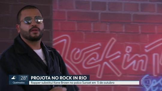 Rock in Rio anuncia show de Projota no palco Sunset