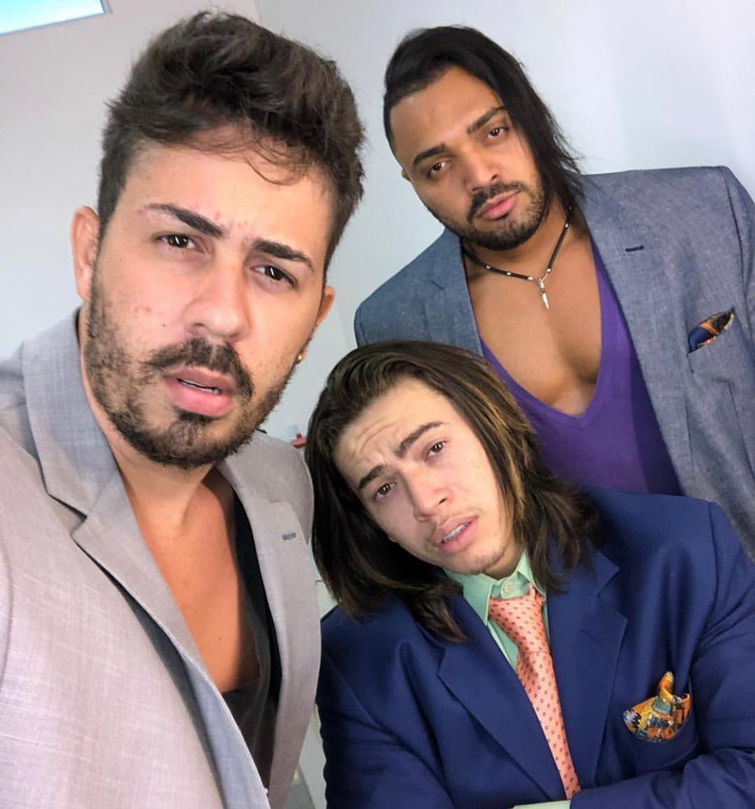 Carlinhos Maia, Whindersson Nunes e Tirullipa (Foto: Reprodução/Instagram)
