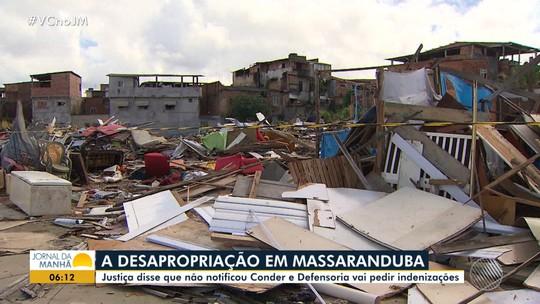 Justiça diz que não notificou a Conder sobre a desapropriação em Massaranduba