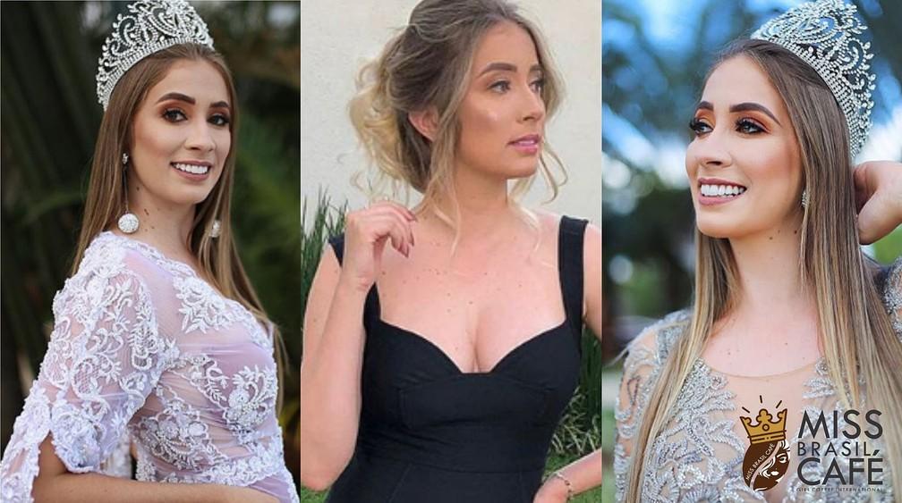 Candidata Miss Brasil Café - Camila Alvim - Carmo Paranaíba — Foto: Miss Brasil Café