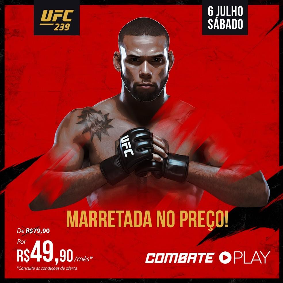 Combate Play por apenas R$ 49,90 por mês — Foto: Combate