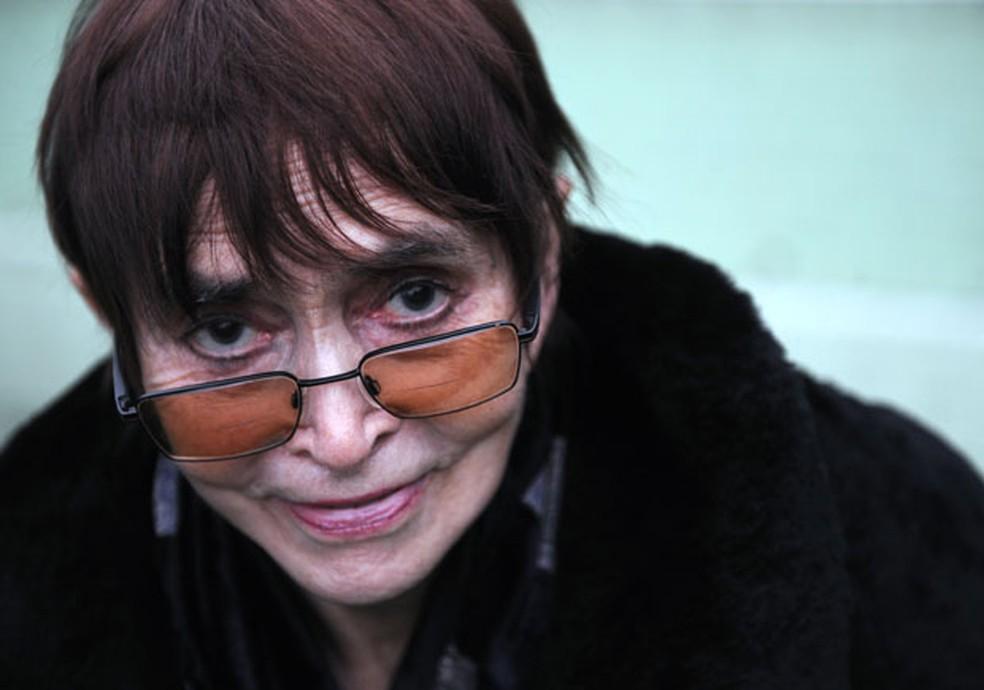 Vera Chytilová em foto de 2 de fevereiro de 2009 — Foto: AP/CTK, Rene Volfik