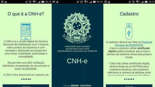 Resultado de imagem para fotos de Detran Ceará prevê implantar CNH digital a partir de fevereiro de 2018