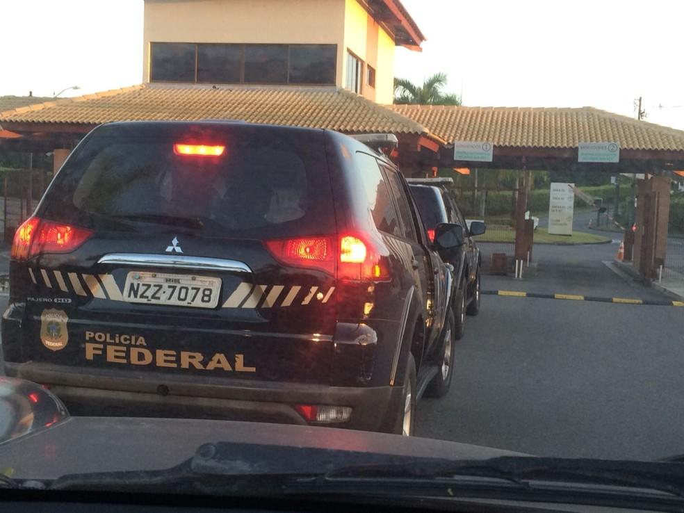 PF realiza na BA operação de combate a lavagem de dinheiro proveniente do tráfico internacional de drogas (Foto: Divulgação/Polícia Federal da Bahia)