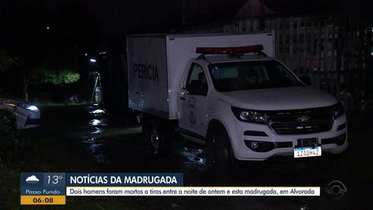 Polícia investiga morte de dois homens em bairros diferentes em Alvorada