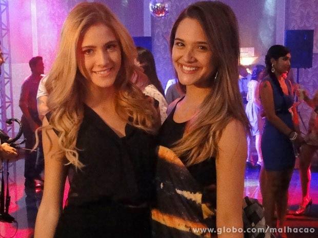 Juliana Paiva, Hanna Romanazzi  (Foto: Malhação / TV Globo)