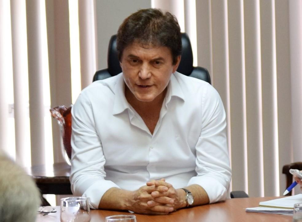 Robinson Faria, governador do Rio Grande do Norte (Foto: Thyago Macedo/G1)