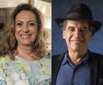Eliane Giardini e Paulo Betti | TV Globo