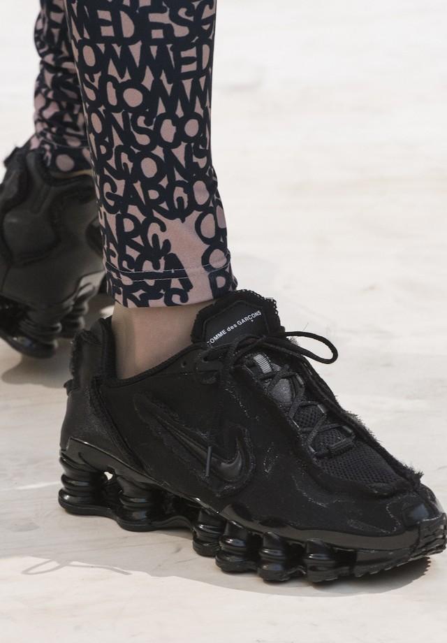 Nike Shox x CdG (Foto: Imaxtree)