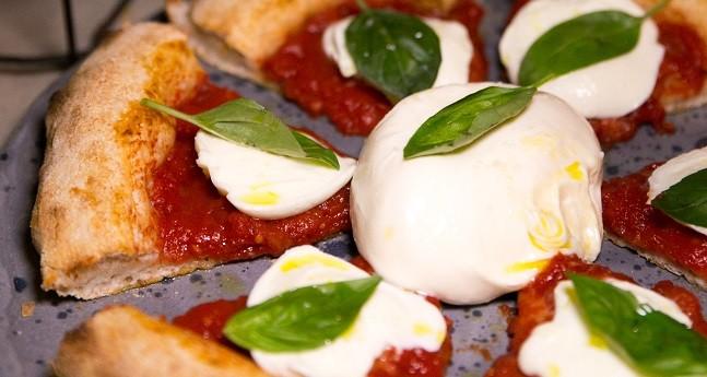 Coltivi: A pizza Margherita