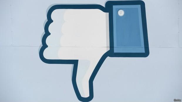 """Botão de """"não curti"""" é o mais pedido por usuários, mas pode não agradar anunciantes (Foto: BBC)"""